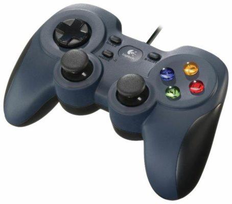 Logitech G Gamepad F310, черный/синий