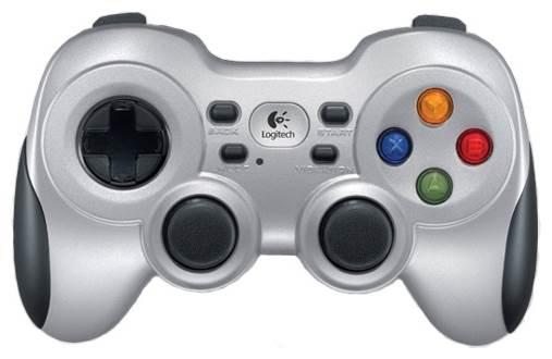 Logitech G Wireless Gamepad F710, черный/серебристый