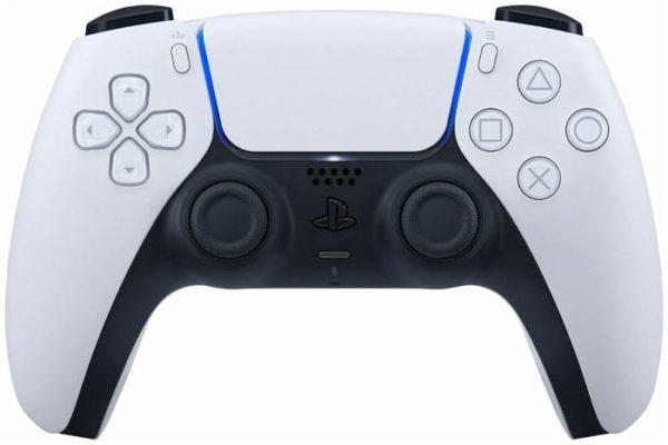 Sony DualSense, белый/черный