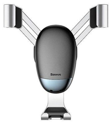 Baseus Mini gravity holder серебристый