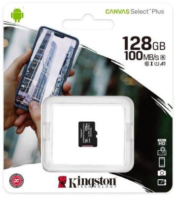 Kingston SDCS2/32GBSP 32 ГБ, скорость чтения 100 МБ/с