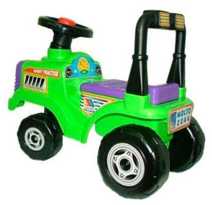 Molto Трактор Митя №2 (9196) зеленый