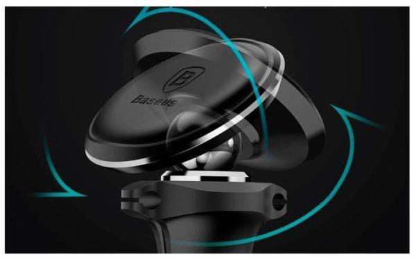 Baseus Magnetic Air Vent Car Mount Holder черный