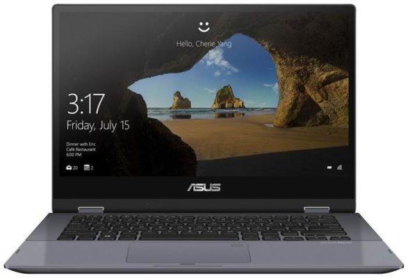 "ASUS VivoBook Flip 14 TP412 (/14""/1920x1080) (/14""/1920x1080)FA-EC404T 90NB0N31-M13540, star grey"