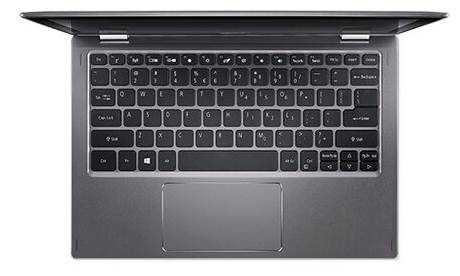 Acer SPIN 1 (SP111-34N-C9ET) NX.H67ER.004, серый
