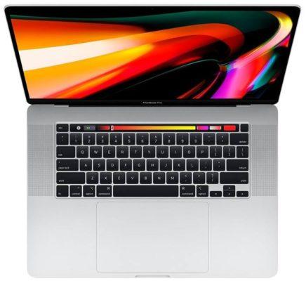 Apple MacBook Pro 16 Late 2019 MVVL2RU/A, серебристый