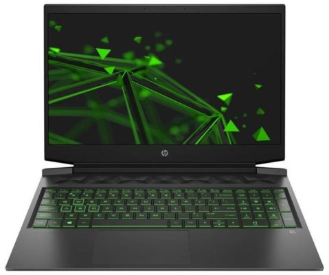 "HP Pavilion Gaming 16-a0 (/16.1""/1920x1080) (/16.1""/1920x1080) (/16.1""/1920x1080)018ur 22Q54EA, темно-серый/ярко-зеленый хромированный логотип"