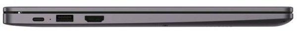 """HUAWEI MateBook D 14"""" NBl-WAP9R 53010XJD, космический серый"""