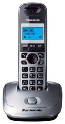 Panasonic KX-TG2511 темно-серый металлик
