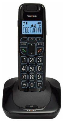 teXet TX-D7505A черный
