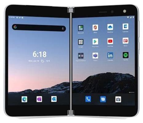Microsoft Surface Duo 6/256GB, белый