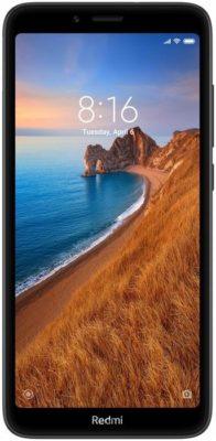 Xiaomi Redmi 7A 2/32GB, матовый черный