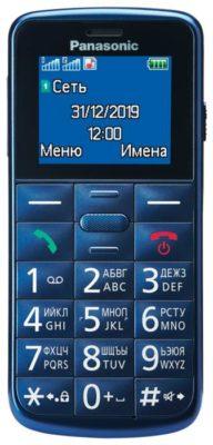 Panasonic KX-TU110RU, синий