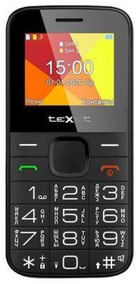 teXet TM-B201, черный