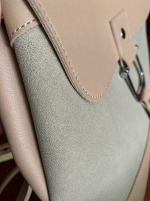 Материал рюкзака — экокожа