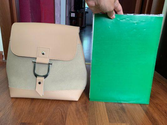 Объем рюкзака