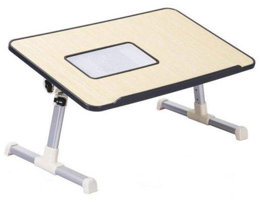 Стол для ноутбука с вентиляцией, регулируемый