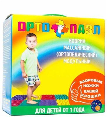 7 лучших ортопедических ковриков для детей