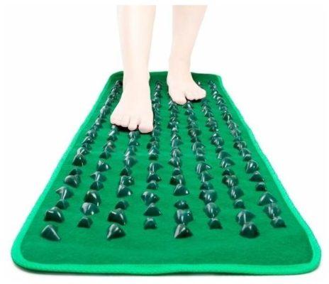 Lite Weights массажный коврик 2093LW 142x39 см зеленый