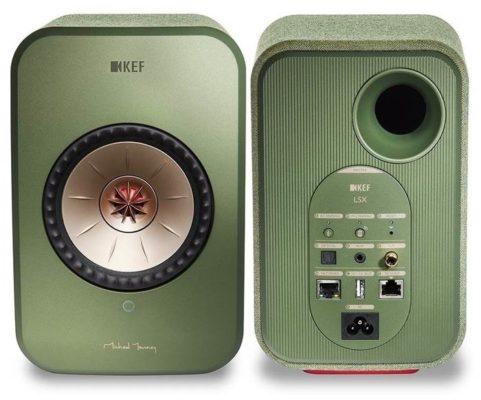 KEF LSX green