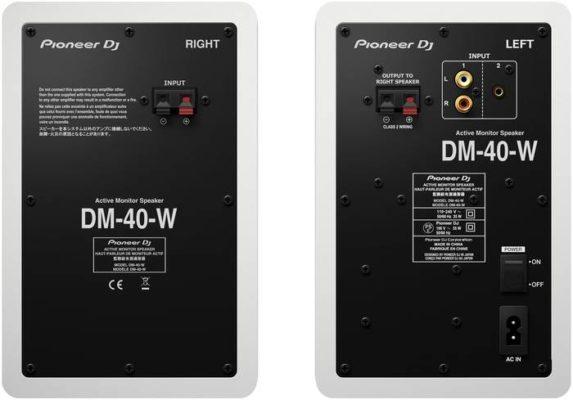 Pioneer DJ DM-40 white