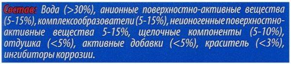 RUSEFF АКТИВНАЯ ПЕНА-КОНЦЕНТРАТ для бесконтактной мойки 1 мл