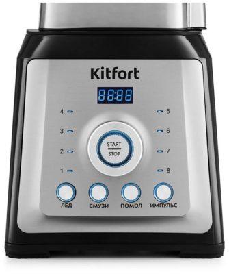 Kitfort KT-1399, черный/серебристый