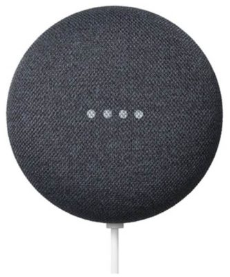 Google Nest Mini (2nd gen), chalk