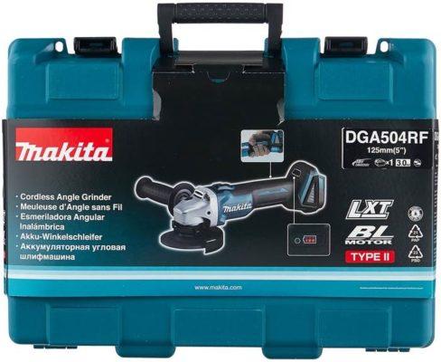 УШМ Makita DGA504RF, 125 мм