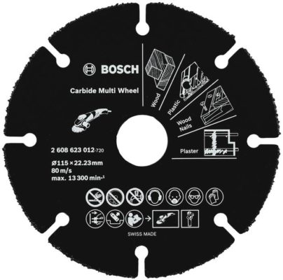 BOSCH Multi Wheel 2608623012, 115 мм 1 шт.