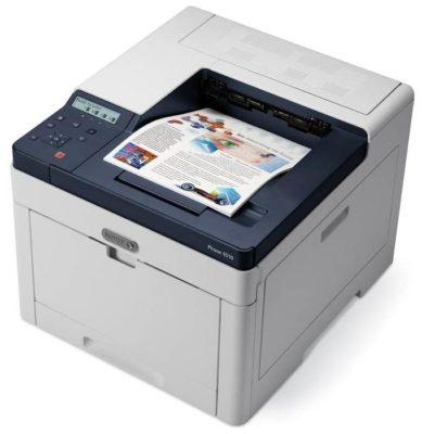 Xerox Phaser 6510N, белый/синий