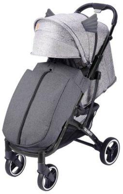 Dearest 818 Plus (Yoya Max Premium), бежевый/черная рама, цвет шасси: черный