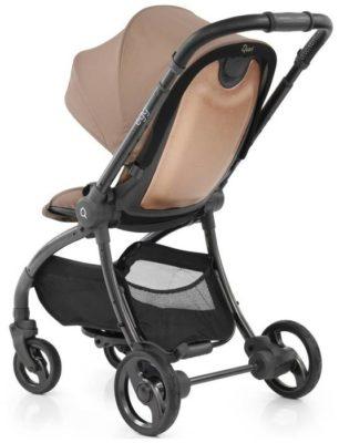 EGG Egg Stroller, camo grey/anodised chassis, цвет шасси: серый