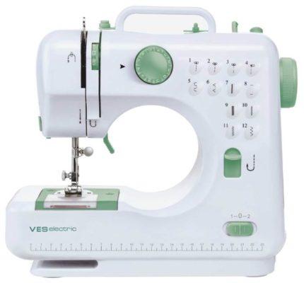 VES electric VES 505-W, белый/зеленый