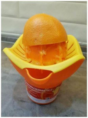 Соковыжималка ручная для цитрусовых фруктов, Полимербыт