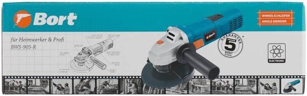 Bort BWS-905-R, 900 Вт, 125 мм
