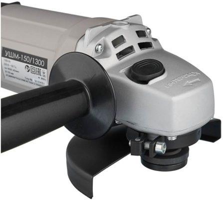 Интерскол УШМ-150/1300, 1300 Вт, 150 мм