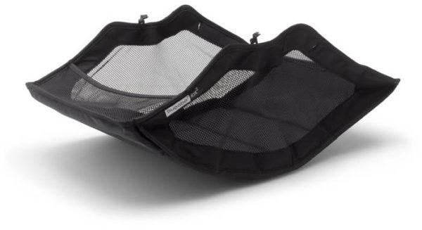 Bugaboo Fox 2 complete (2 в 1), black/grey melange/grey melange, цвет шасси: черный