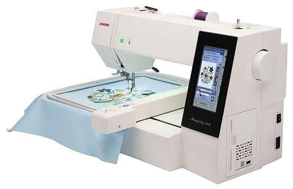 Janome Memory Craft 500E (MC 500) белый
