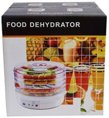 Электросушилка / дегидратор / сушилка для овощей, фруктов, грибов Andong пятиярусная