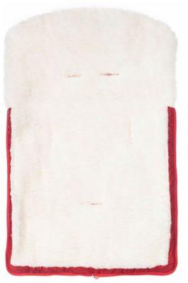 Nuovita Alpino Bianco меховой 85 см rosso