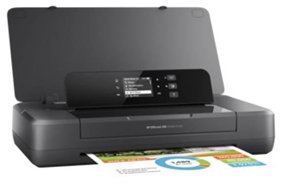 HP OfficeJet 202, черный
