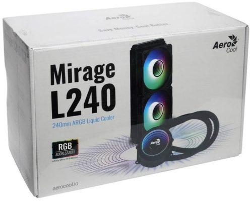 AeroCool Mirage L240 белый/ARGB