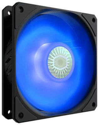 Cooler Master SickleFlow 120 черный/красная подсветка 1 шт.